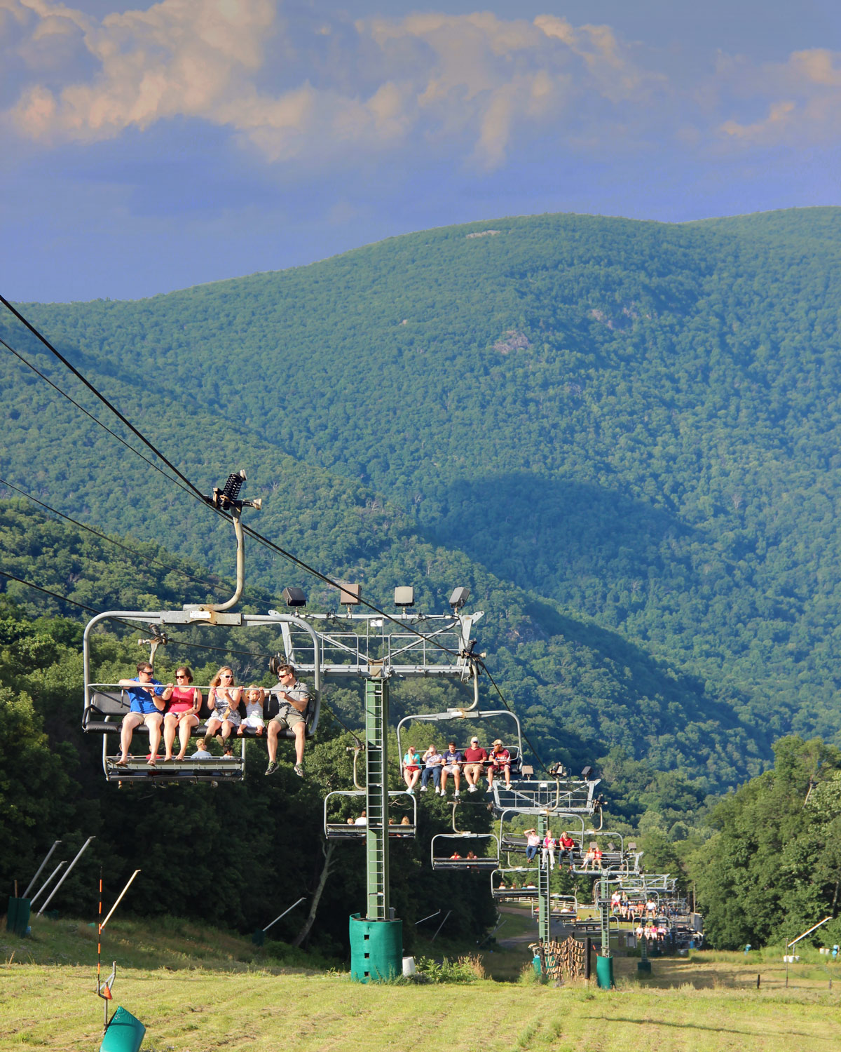 july fourth jubilee chairlift rides